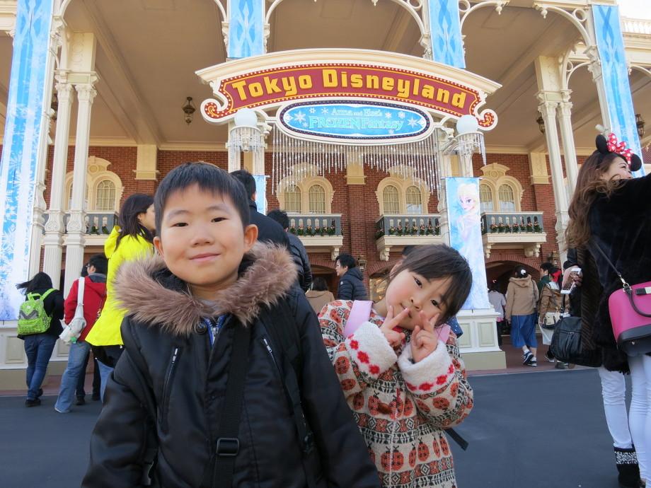 東京ディズニーランドへ卒園遠足