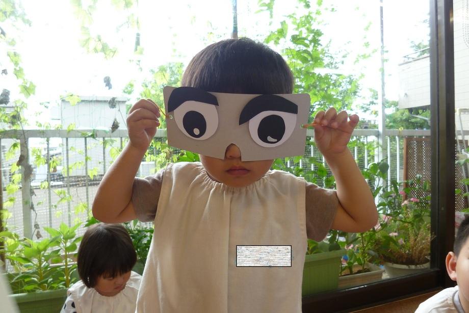 スイカ割用オリジナルアイマスク